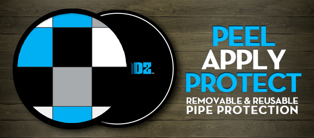 PipePadz Reusable Water Pipe, Bong & Hookah Protection
